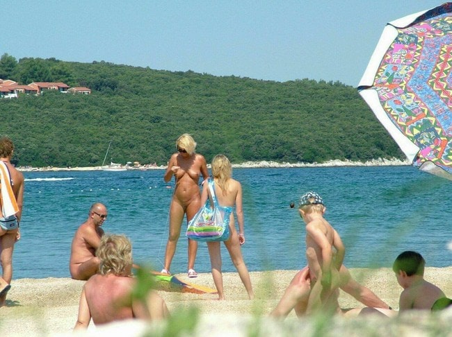 Photo beauty family nudism in Germany [FKK bilder]