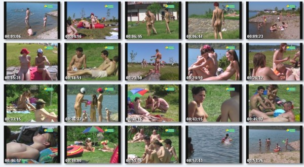 Bathing At Gravel Pit - new beauty family nudism video [720×480 | 00:55:00 | 1.3 GB]