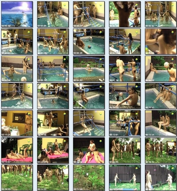 Poruba girls afternoon - new family nudism video in the pool [720×480 | 00:45:57 | 2.6 GB]