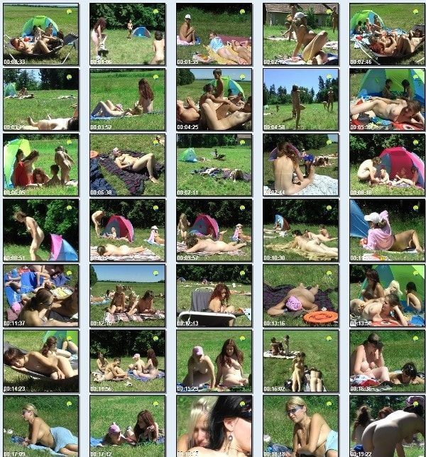 On a Meadow by the Forest - new family nudism video [720×480 | 01:12:46 | 2.5 GB]