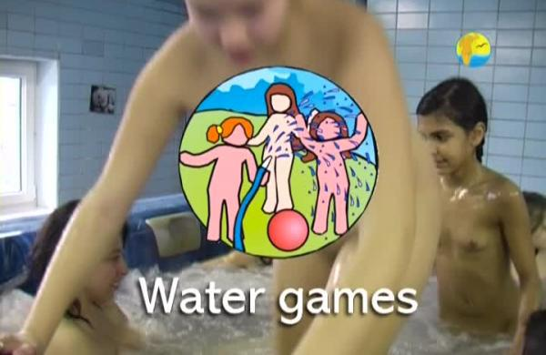 Water Games - new family nudism video in the pool [720×480 | 01:14:29 | 4.3 GB]