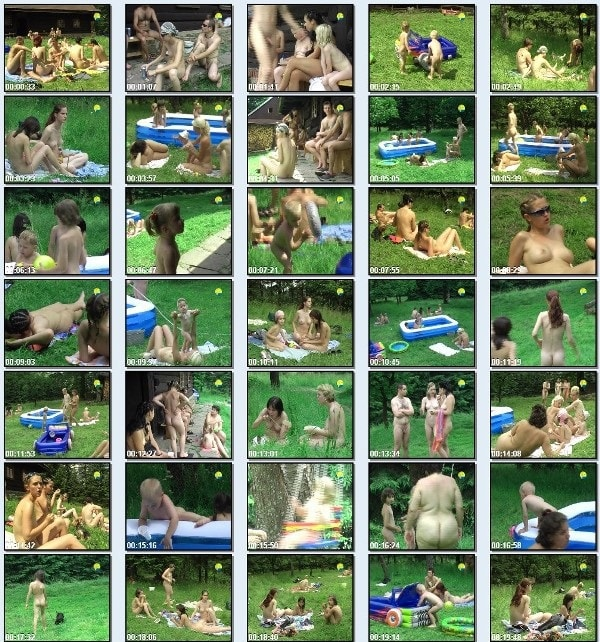 Cottage Colony - new family nudism video [720×480 | 01:24:07 | 3.8 GB]