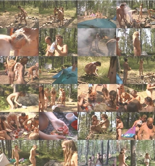 A day of camping - family nudism video [720×480 | 00:21:28 | 340 MB]