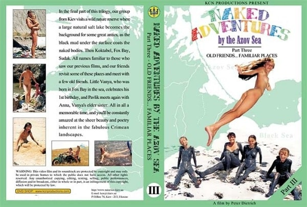 Naked adventures by the azov sea - Family nudism film  [vol 3] [640×480 | 00:54:28 | 1.8 GB]