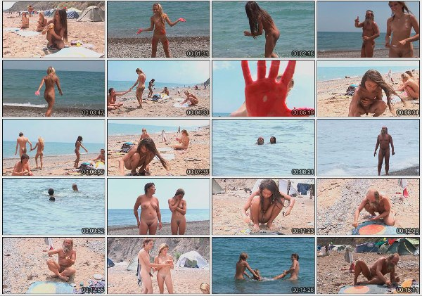 Mars & muddy merry making - family nudism video  [720×480 | 01:02:36 | 4,00 GB]