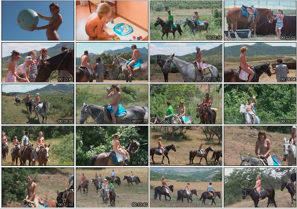 Horses & other planets - Naked girl nudists video [720×480 | 00:58:17 | 3.73 GB]