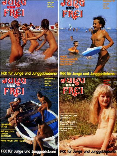 Jung und Frei - nudism magazines photo [series 9-12]