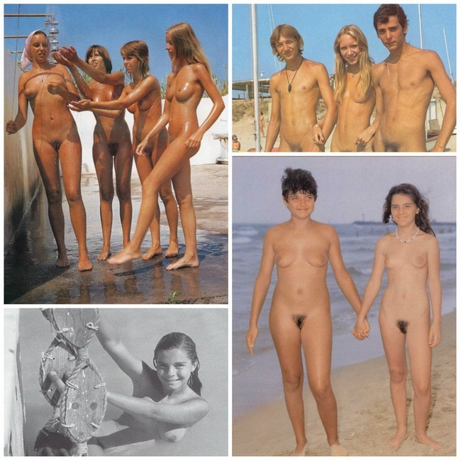 Vintage nudism pictures - boys and girls nudists