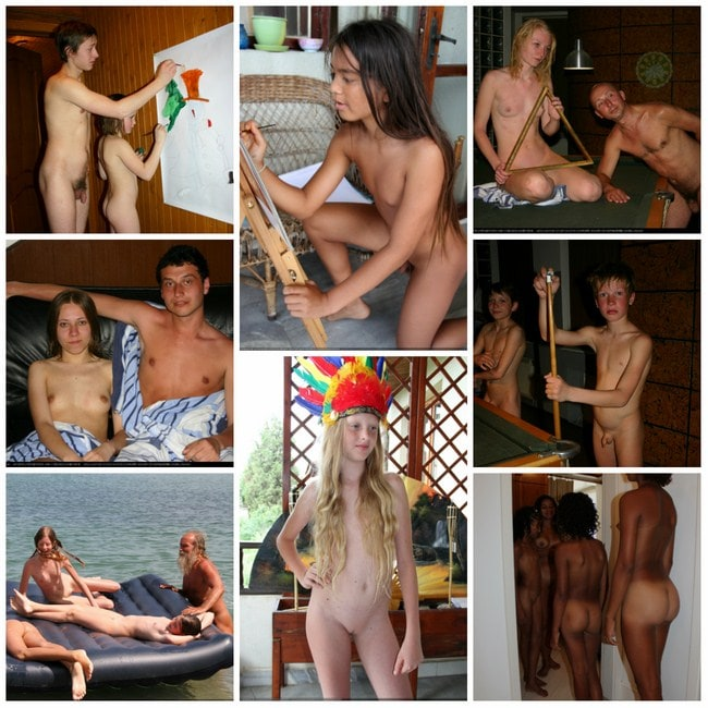 Family nudism in Brazil - gallery new photo