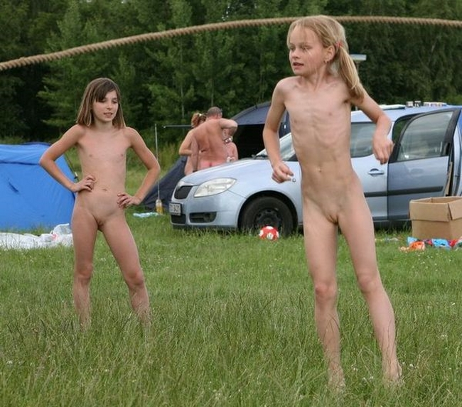 Lakeside forest camp video family nudism vol.2