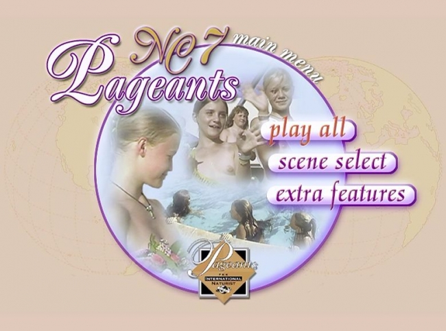 Naturist Contest and Junior Miss Pageants France vol.7 y.1999 [Original DVD video]