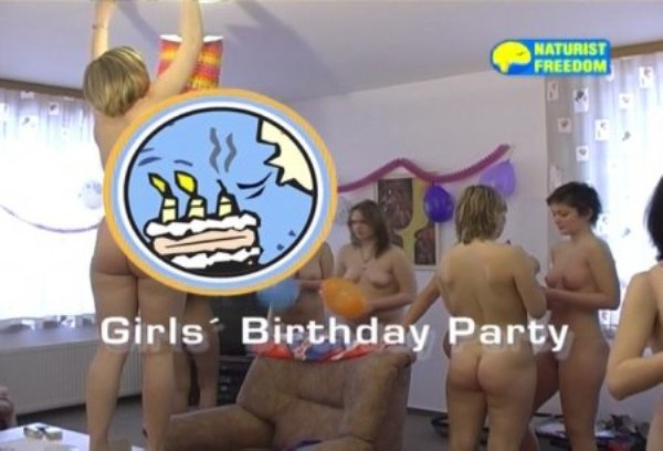 Girls Birthday Party - young naked girls nudists video [720x480 | 00:55:47 | 3.1 GB]