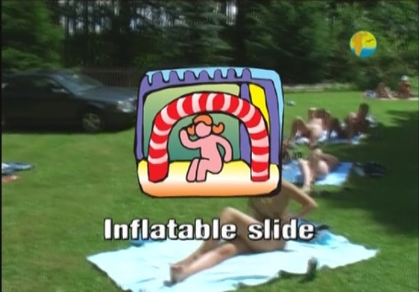 Inflatable Slide - Videos family nudism outdoors in summer [720x480 | 00:55:01 | 1,5 GB]