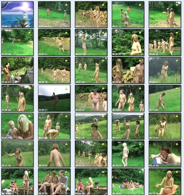 Frisbee - family nudism video [720x480 | 01:14:07 | 3.8 GB]